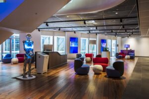 Telstra Customer Insight Centre Vision Gallery