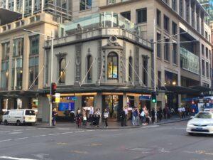 Telstra Sydney George Street - Corner King and George Street