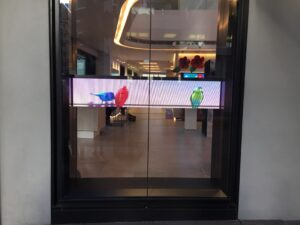 Telstra Sydney George Street - Interactive Window Displays